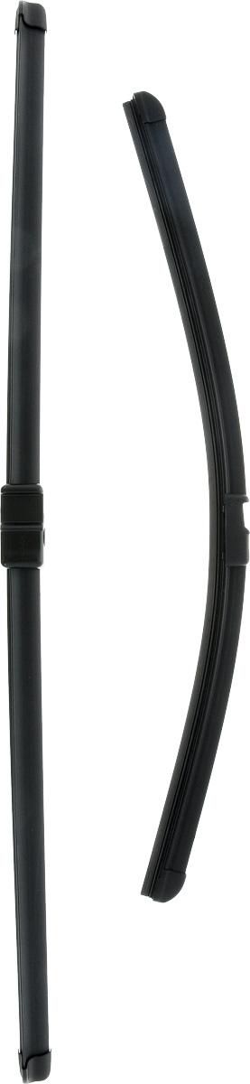 Щетки стеклоочистителя Bosch Aerotwin A951S, бескаркасные, 650 мм/475 мм, 2 шт бескаркасные щетки стеклоочистителя лобового стекла bosch aerotwin a250s