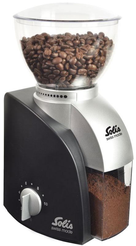купить Solis Scala, Black кофемолка по цене 9372 рублей