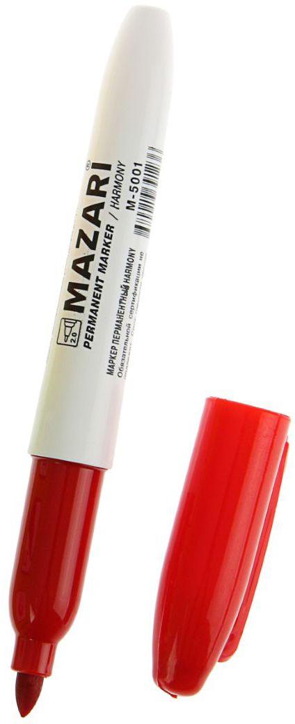 Mazari Маркер перманентный Harmony цвет красный calligrata маркер перманентный 1104 цвет красный