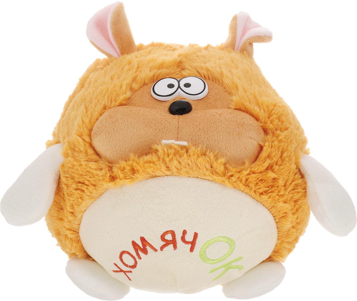 Fancy Мягкая игрушка Хомячок Круглик 18 см fancy хомячок круглик