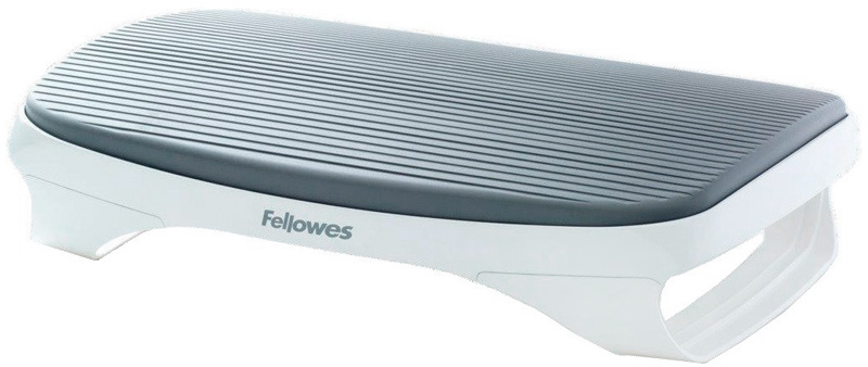 все цены на Fellowes I-Spire Series, White Grey подставка для ног онлайн