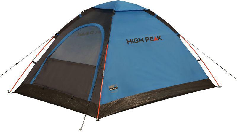 Палатка High Peak Monodome PU, цвет: синий, серый, 205 х 150 х 105 см. 10159 палатка high peak pavillon цвет светло серый темно серый 300 х 300 х 210 см 14046