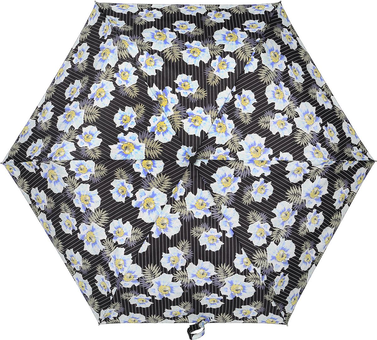 Зонт женский Fulton, механический, 3 сложения, цвет: мультиколор. L553-3375 черепаха intex надувная 191 170см от 3лет