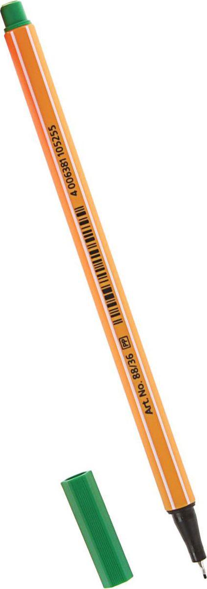 STABILO Ручка капиллярная Point 88 цвет чернил зеленый stabilo ручка капиллярная point 88 цвет чернил зеленый