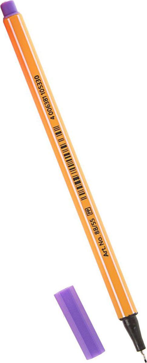 STABILO Ручка капиллярная Point 88 цвет чернил фиолетовый stabilo ручка капиллярная point 88 цвет чернил зеленый