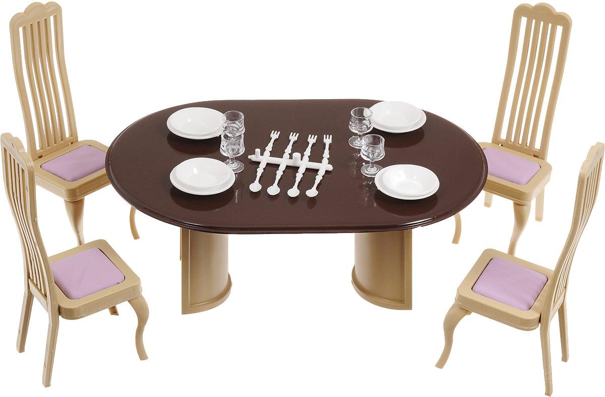Мебель для кукол ОГОНЕК Коллекция цена