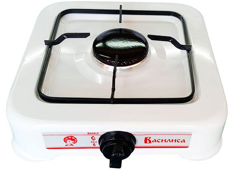Настольная плита Василиса ГП1-540, White газовая Василиса