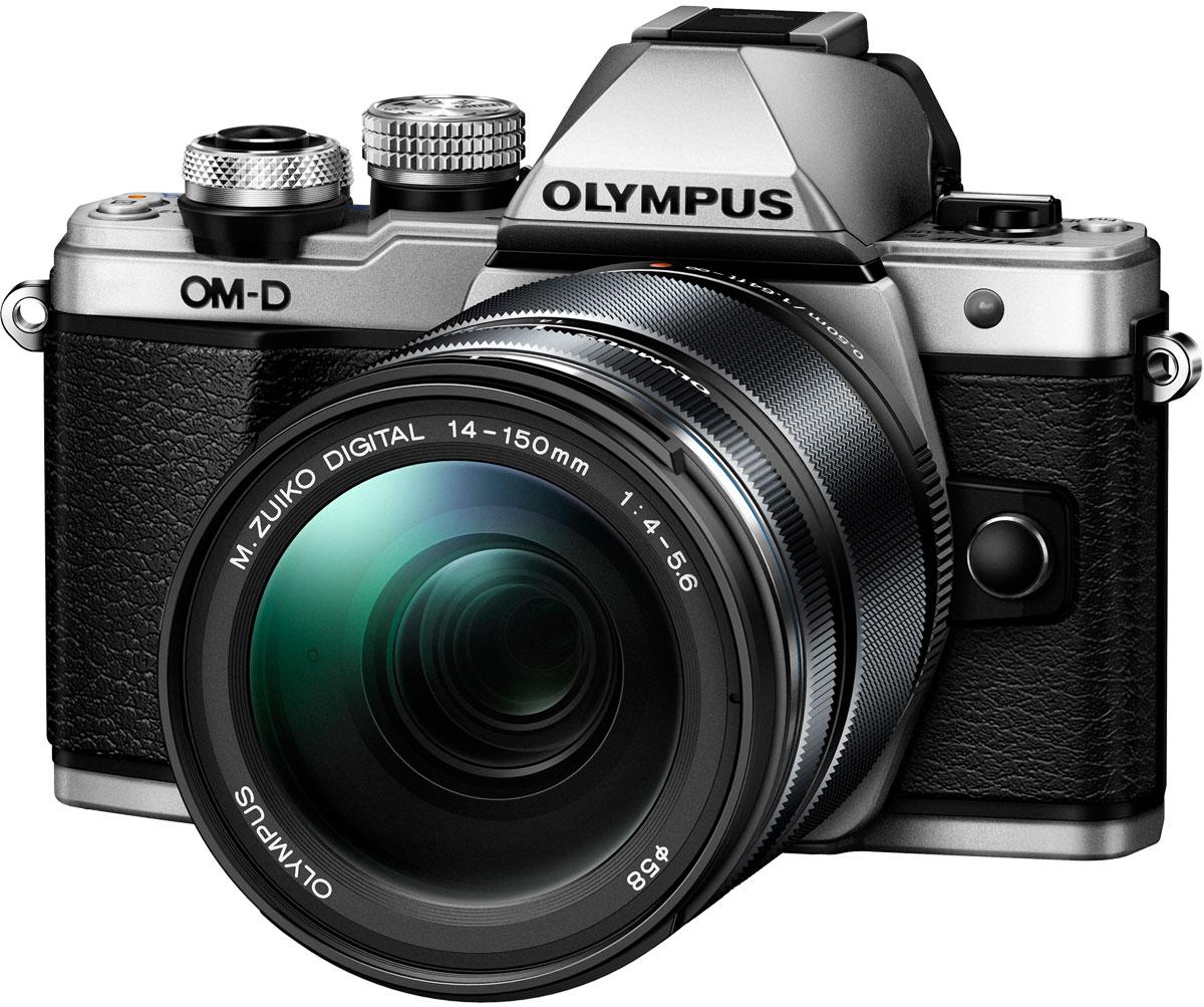 Olympus OM-D E-M10 Mark II Kit 14-150 II, Silver фотокамера