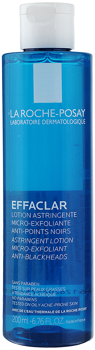 La Roche-Posay Лосьон для сужения пор с микро-отшелушивающим эффектом для жирной проблемной кожи Effaclar 200 мл la roshe posay effaclar duo
