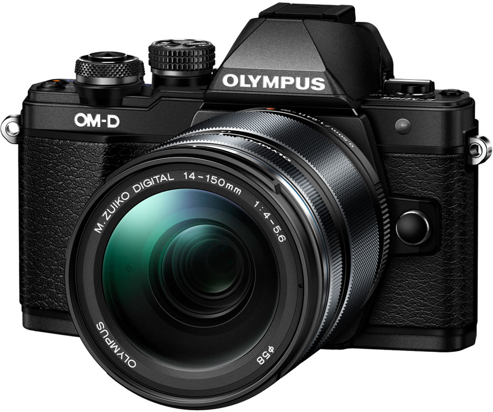 Olympus OM-D E-M10 Mark II Kit 14-150 II, Black фотокамера