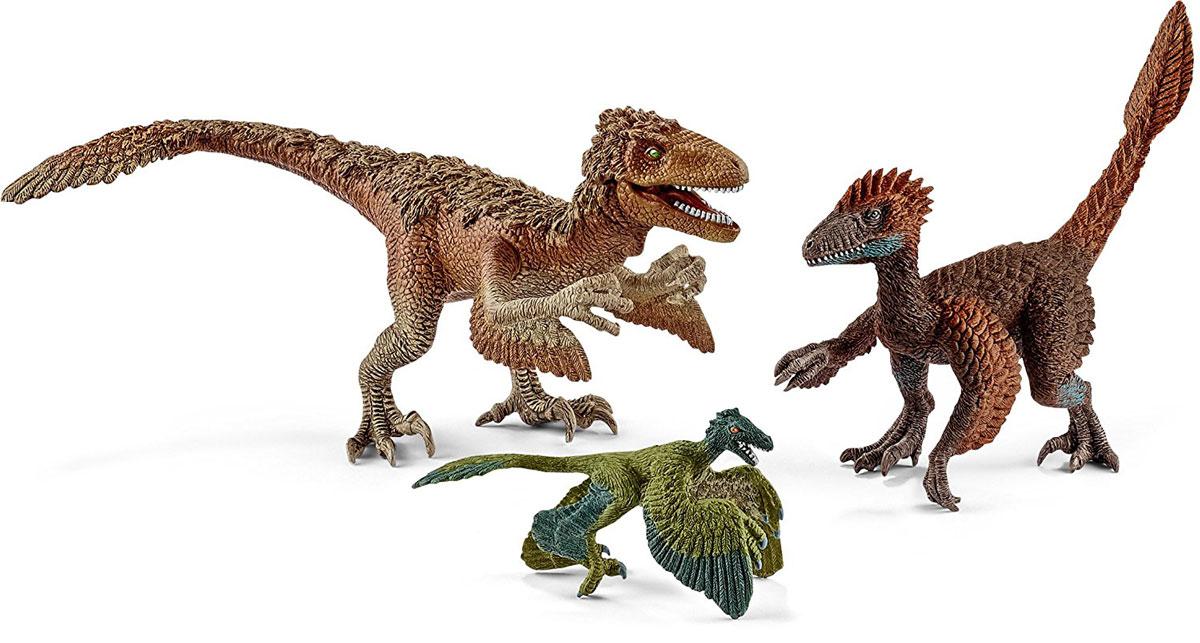 Schleich Набор фигурок Пернатые динозавры-хищники 3 шт