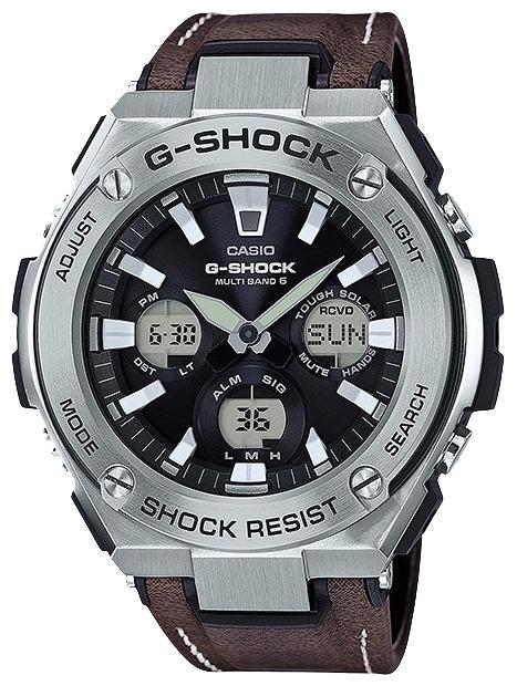 Наручные часы мужские Casio G-Shock, цвет: черный, коричневый. GST-W130L-1A casio gst w110 1a casio