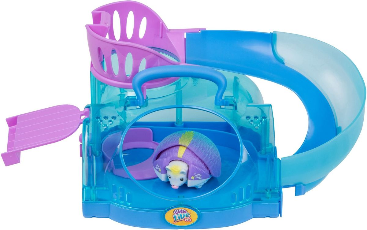 Little Live Pets Интерактивная игрушка Ежик с домиком раскраска ежик