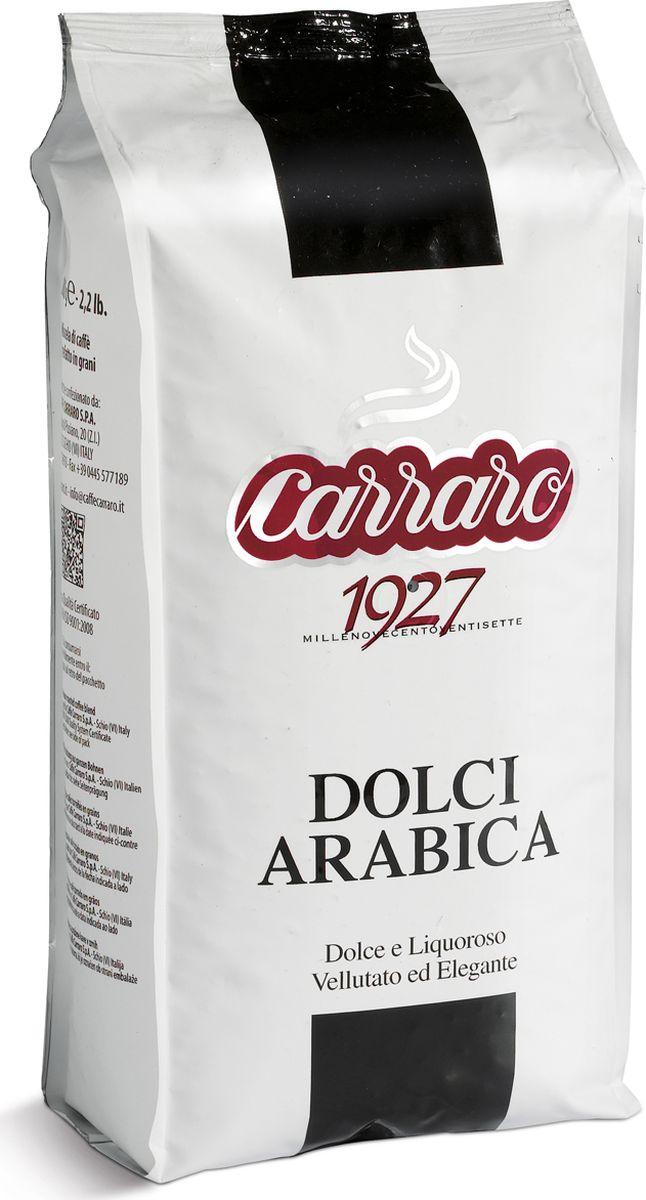 Carraro Dolci Arabica кофе в зернах, 1 кг кофе в зернах carraro 1927 250 г ж б