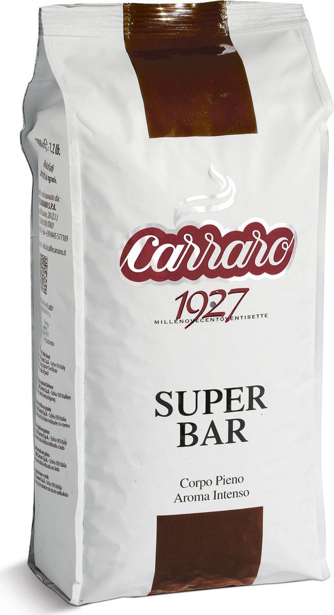 Carraro Super Bar кофе в зернах, 1 кг pausa aroma bar кофе в зернах 1 кг