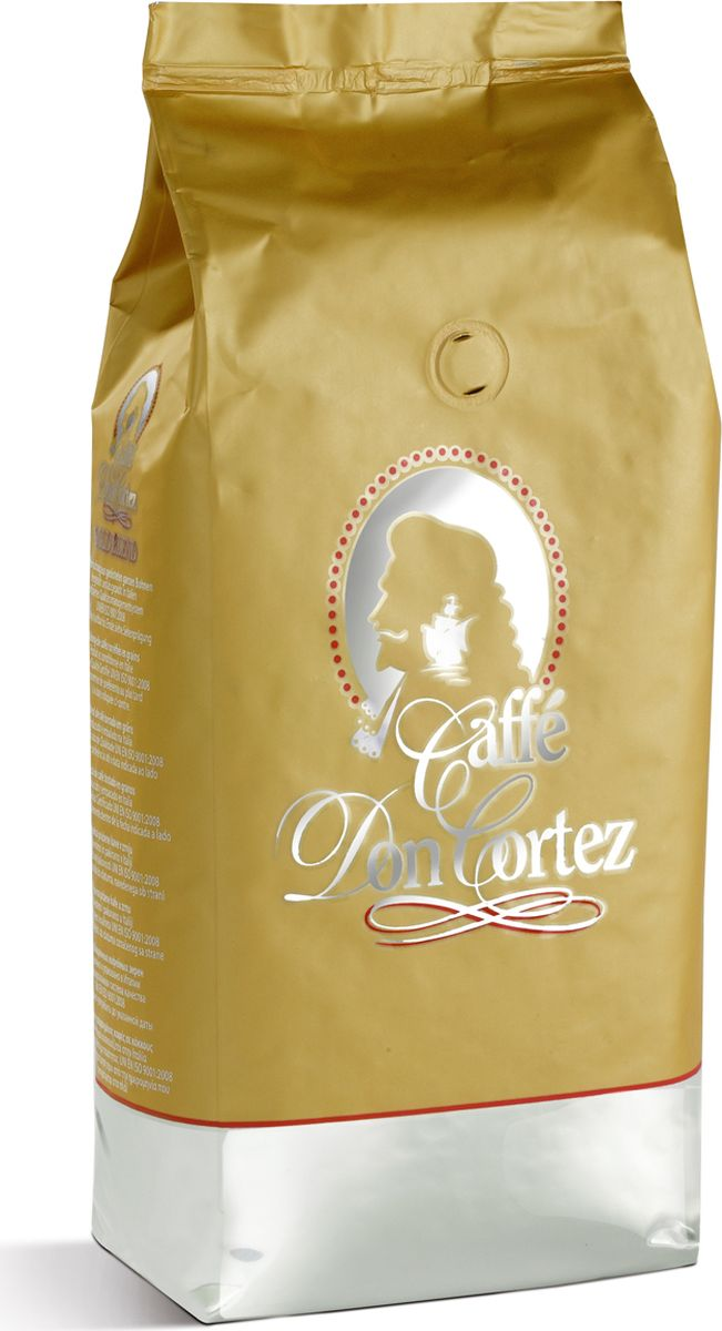 Carraro Дон Don Cortez Gold кофе в зернах, 1 кг кофе в зернах carraro 1927 250 г ж б