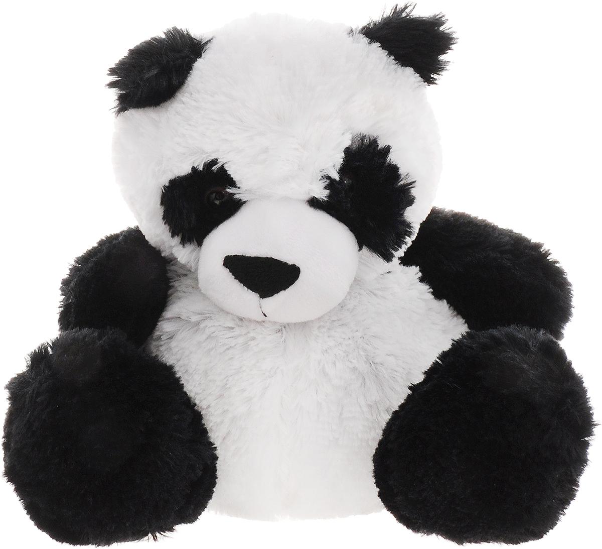 Warmies Мягкая игрушка-грелка Панда цвет белый черный