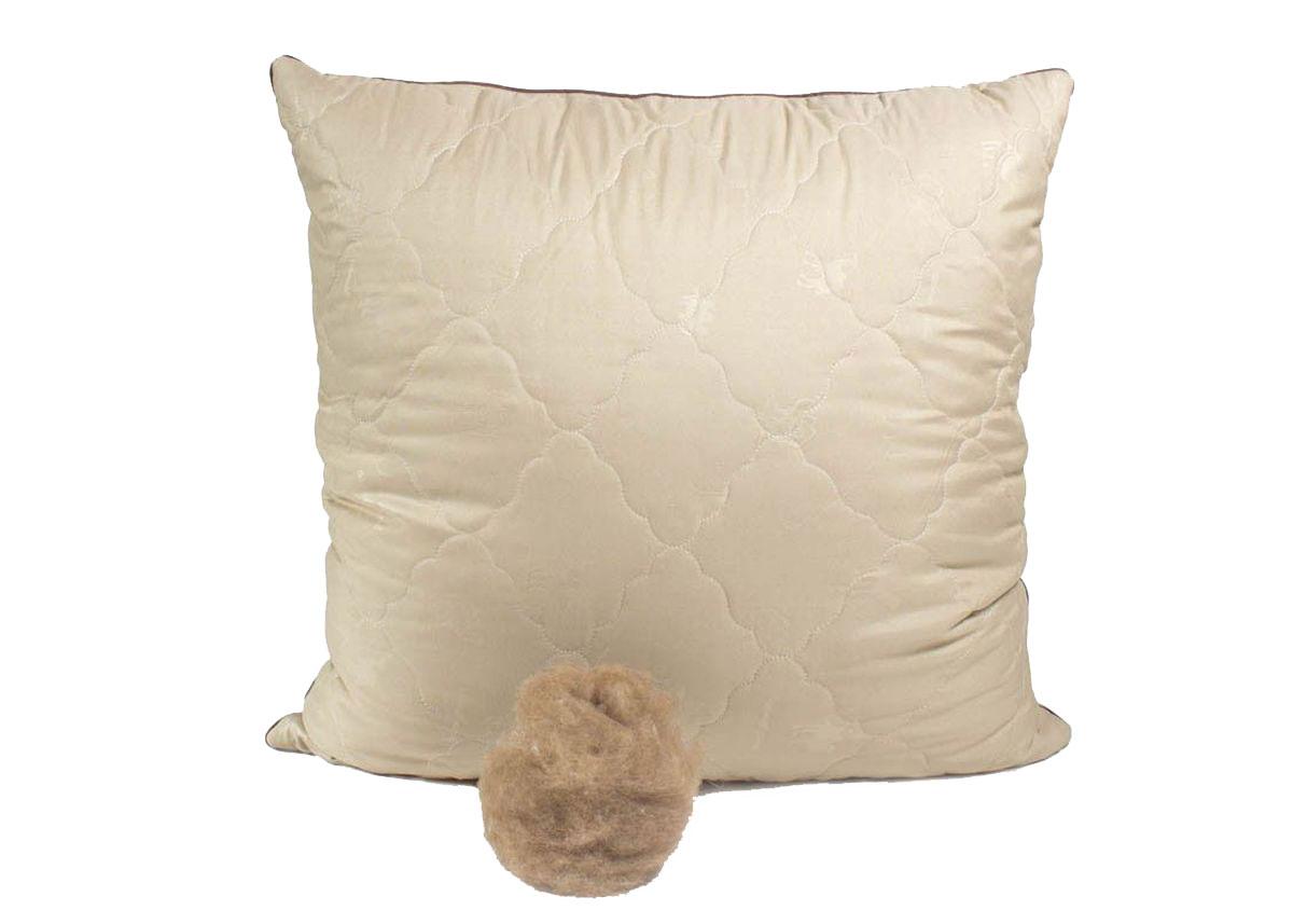 Подушка Peach, средняя, наполнитель: верблюжья шерсть, 70 х 70 см подушки sova and javoronok подушка 70 70 верблюжья шерсть