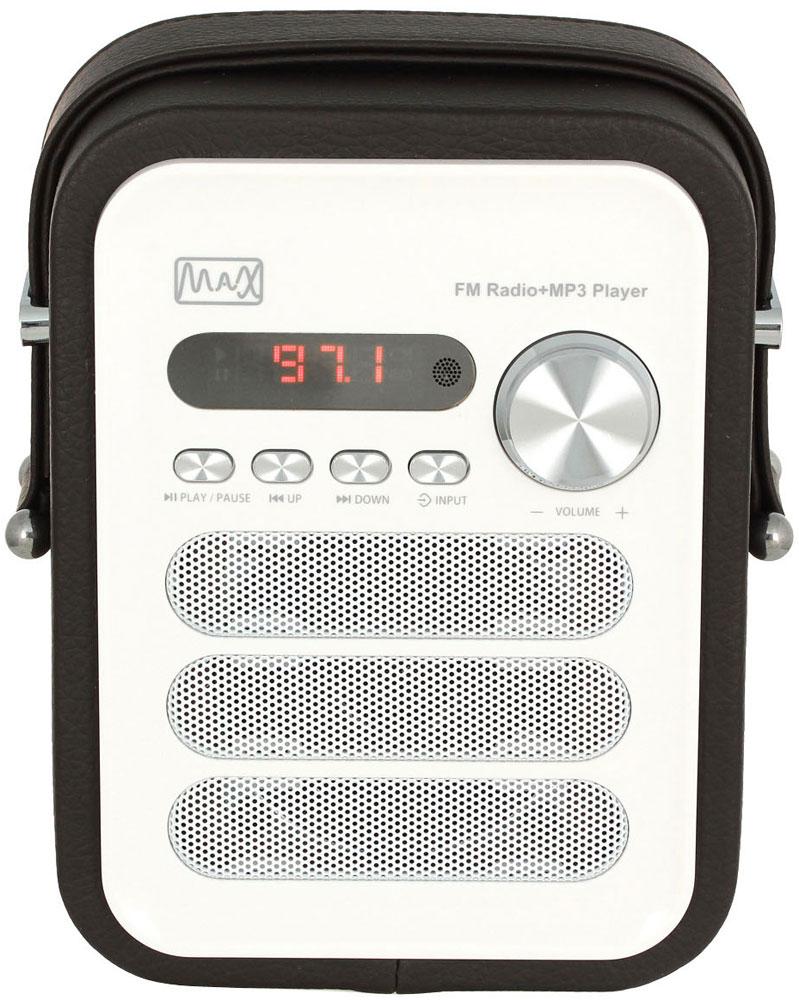 Радиоприемник MAX MR-330, Black White