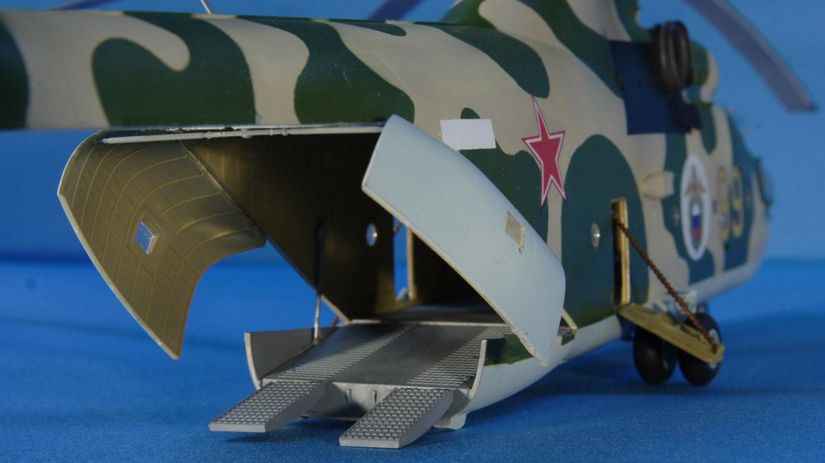 Звезда Набор для сборки и раскрашивания Российский тяжелый вертолет Ми-26 Звезда