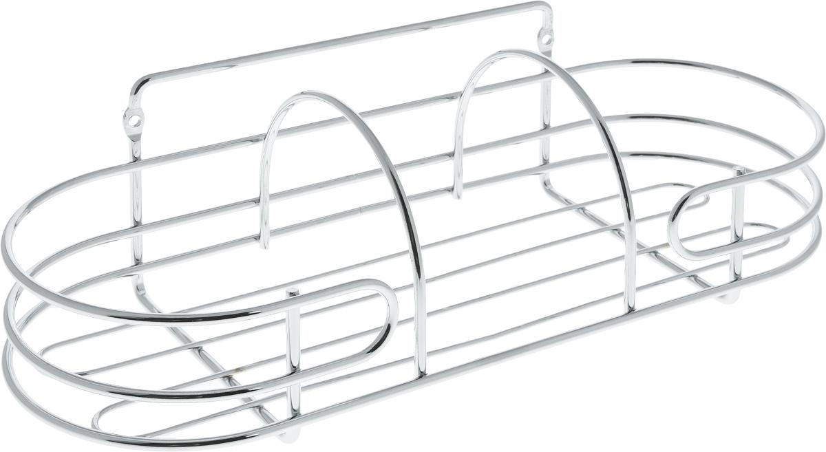 Корзина навесная для ванной Swensa, 32 х 12,5 х 11,8 смSWR-3103AКорзина навесная для ванной Swensa выполнена из высококачественной стали с хромированным покрытием. Имеет закругленную форму. Для установки предусмотрены специальные отверстия. Изделие отлично подойдет для хранения шампуня, геля для душа и многого другого. Корзина дополнит любой интерьер ванной комнаты, она отличается высоким качеством и лаконичным внешним видом.