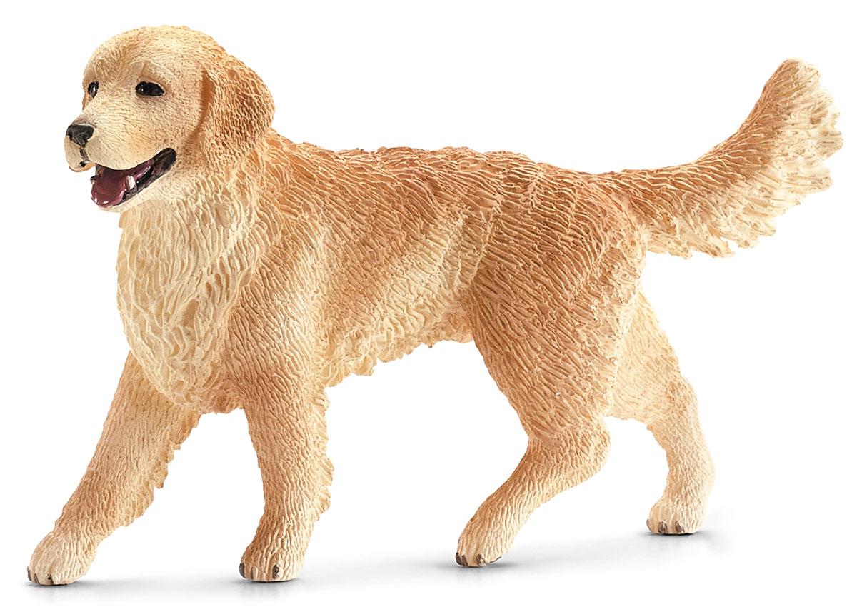 Schleich Фигурка Золотистый ретривер16395Фигурка собаки породы золотистый ретривер светло-коричневого цвета обязательно порадует всех любителей собак и разнообразит сюжетно-ролевые игры с животными вашего ребенка.Золотистый ретривер является одной из самых популярных и любимых многими породой собак. Они прекрасно поддаются дрессировке, очень общительны и дружелюбны. Помимо этого, ретриверы являются прекрасными пловцами и охотниками.Фигурка выполнена из гипоаллергенных и высокотехнологичных материалов, раскрашена вручную и не вызывает аллергии у ребенка.Прекрасно выполненные фигурки Schleich отличаются высочайшим качеством игрушек ручной работы. Все они создаются при постоянном сотрудничестве с Берлинским зоопарком, а потому, являются максимально точной копией настоящих животных. Каждая фигурка разработана с учетом исследований в области педагогики и производится как настоящее произведение для маленьких детских ручек. Рекомендуем!