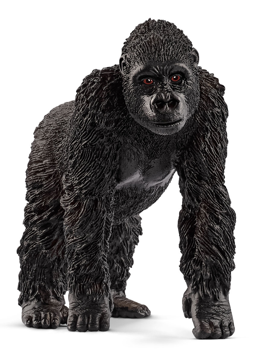 Schleich Фигурка Горилла самка schleich фигурка горилла самец 14770