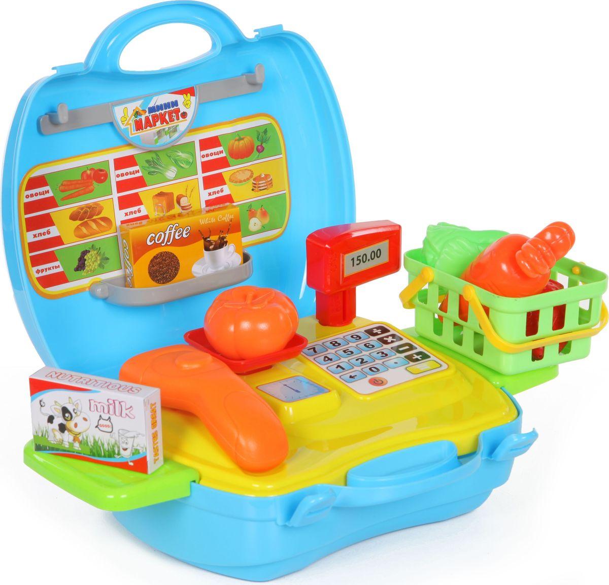 Yako Игровой набор Минимаркет 18 предметов в чемоданчике цены онлайн