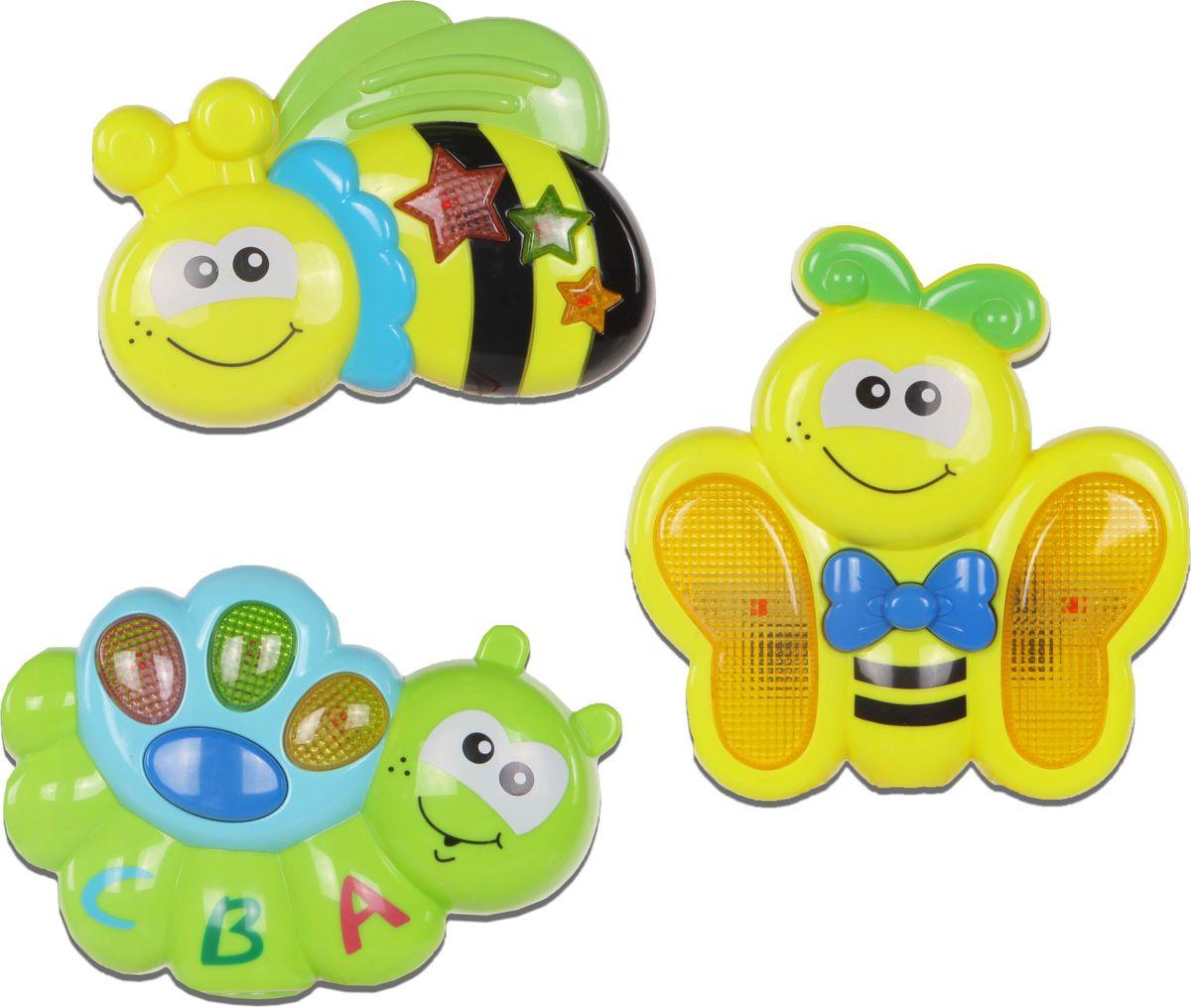 Huile Toys Набор развивающих музыкальных игрушек 3 шт Y1567218 цена