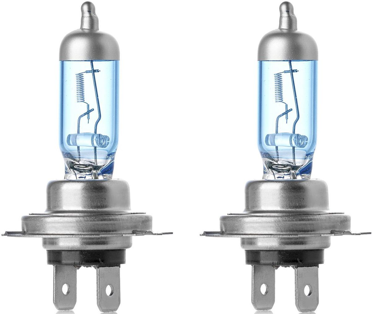 """Лампа автомобильная галогенная Clearlight """"WhiteLight"""", цоколь Н7, 12V, 55W, 2 шт"""