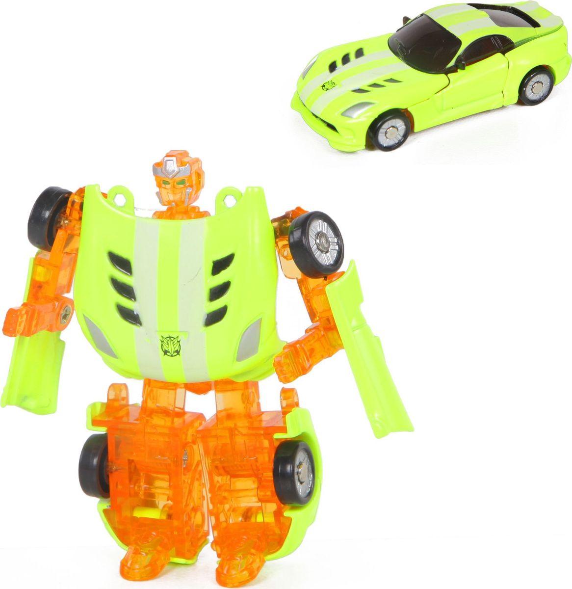 Трансформер Yako Трансформер yako робот трансформер цвет желтый зеленый