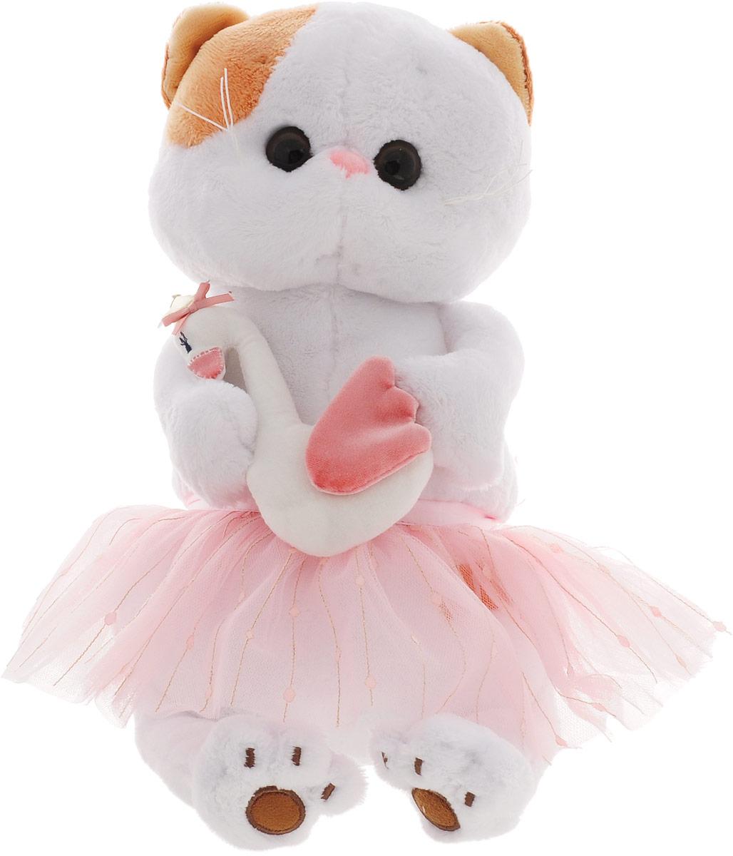 Мягкая игрушка BUDIBASA 27 см белый, розовый