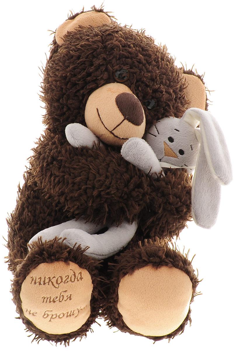 """Мягкая игрушка """"Медвежонок Чиба с зайцем"""", 29 см"""