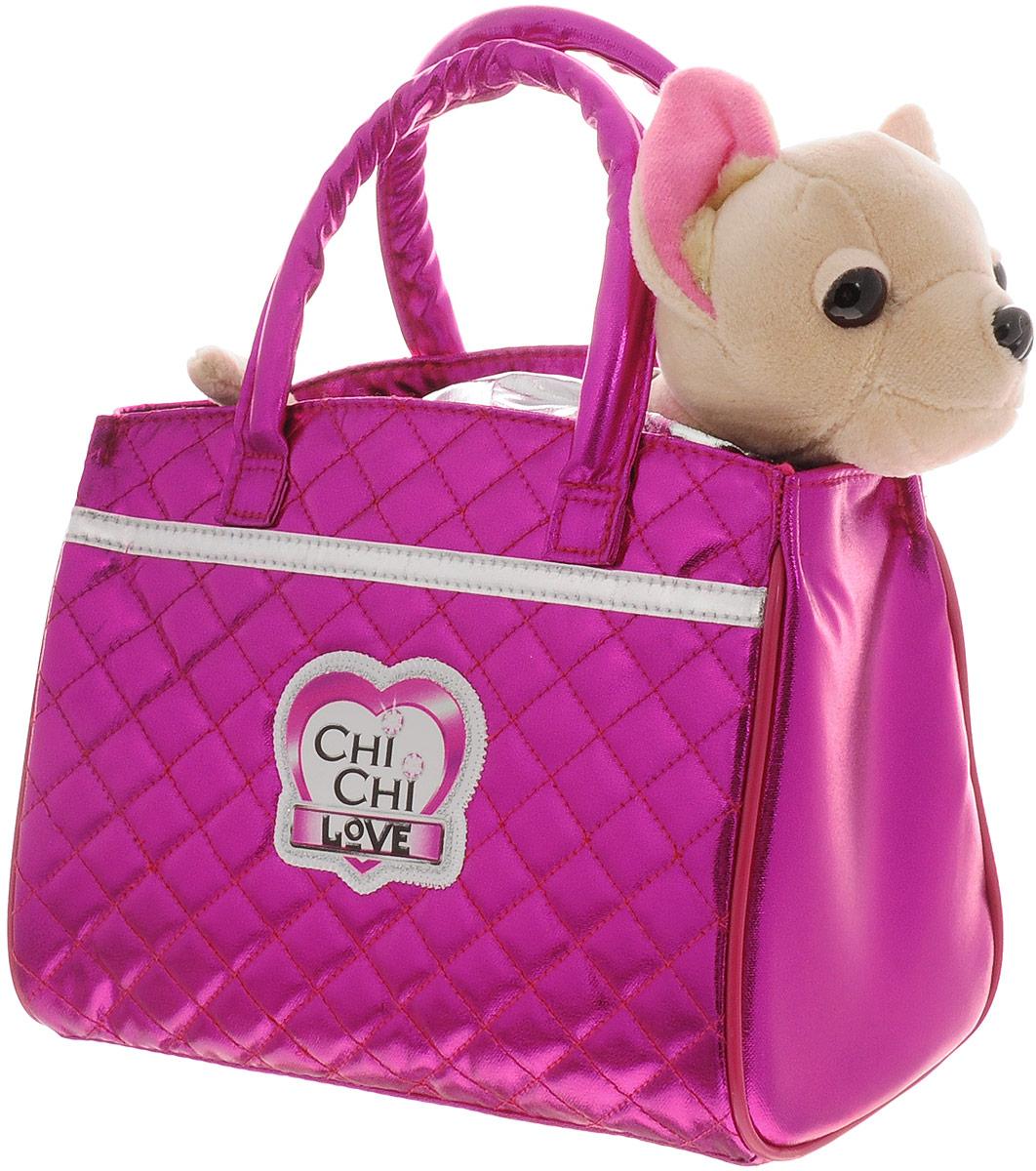 Simba Мягкая игрушка Чихуахуа Гламур с сумочкой 20 см цена