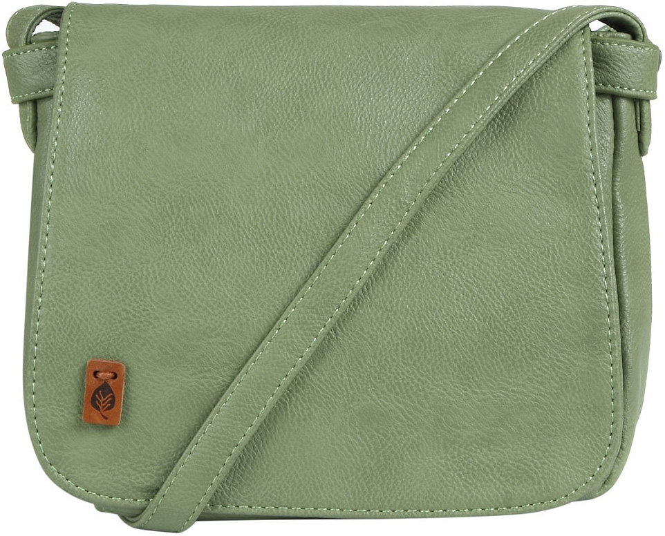 Сумка женская Jane's Story, цвет: серо-зеленый. D123-65