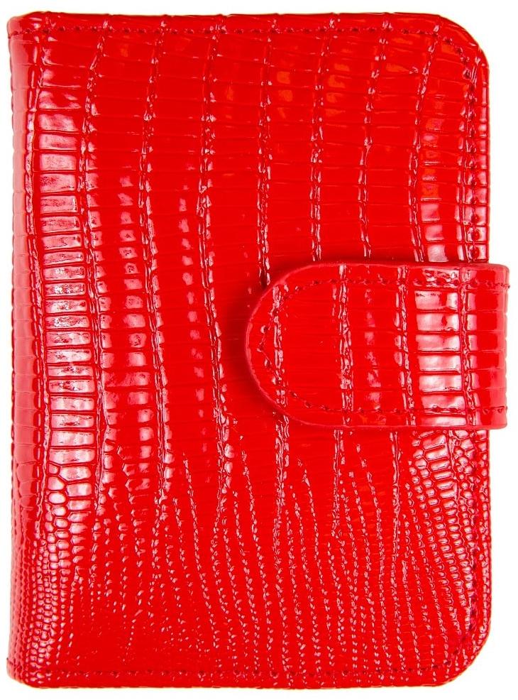 Визитница женская Jane's Story, цвет: красный. K-L-P01-12 цена