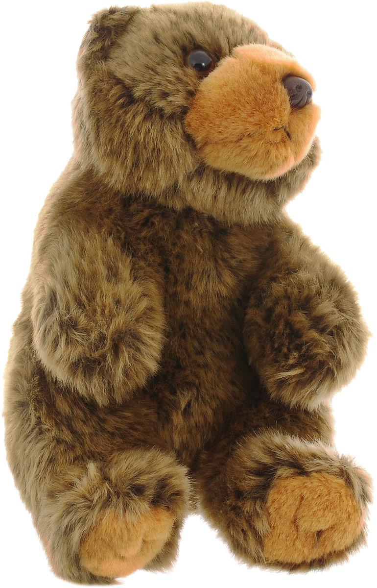 WWF Мягкая игрушка Бурый медведь 18 см