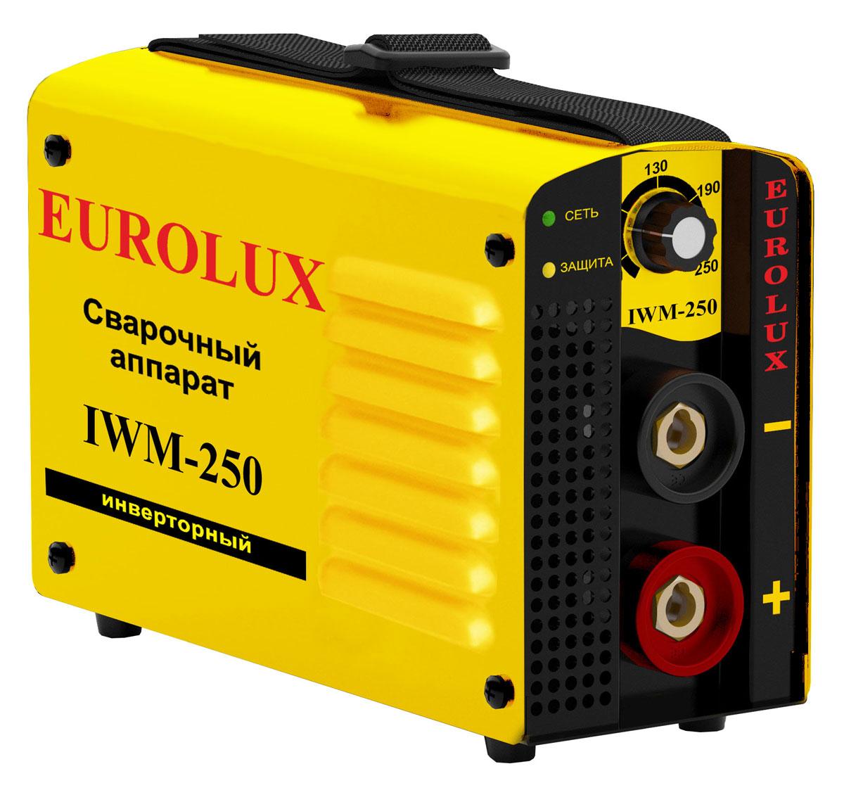 купить Eurolux IWM 250 инверторный сварочный аппарат недорого