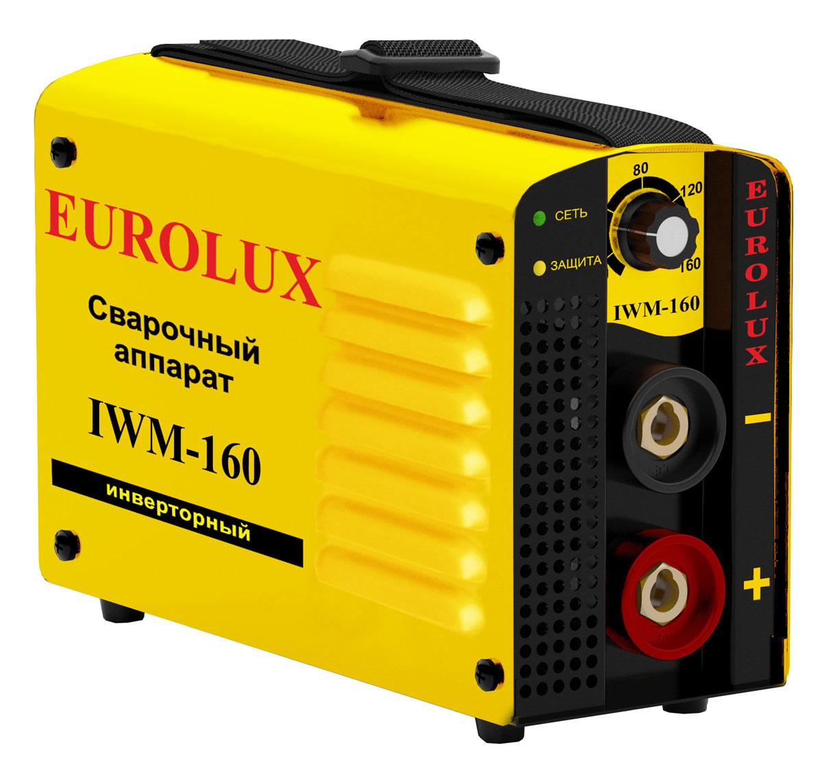 Инверторный сварочный аппарат Eurolux IWM-160 сварочный аппарат eurolux iwm 160