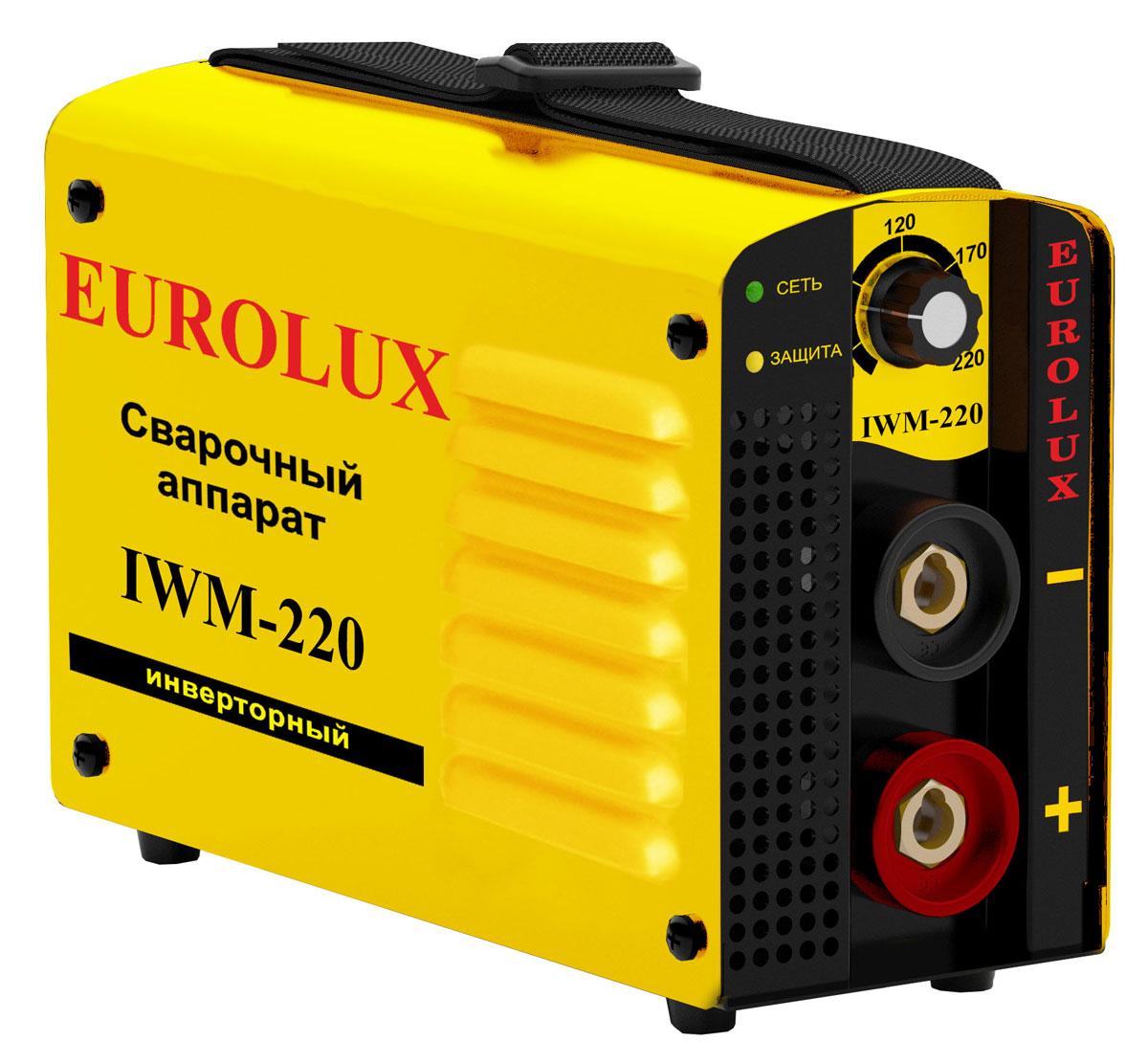 Аппарат сварочный инверторный Eurolux IWM220 цены онлайн