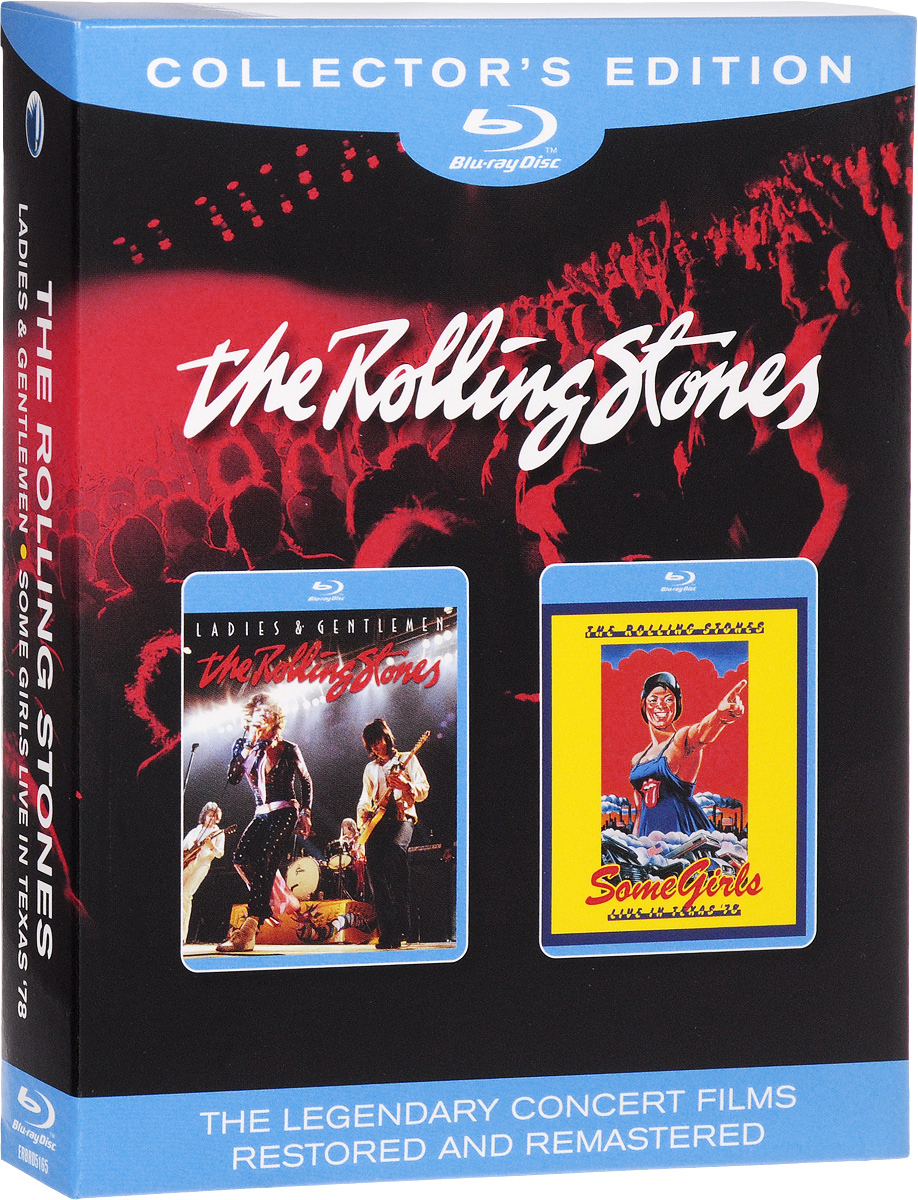 цены на The Rolling Stones. Ladies & Gentlemen / Some Girls Live In Texas '78 (2 Blu-ray) в интернет-магазинах