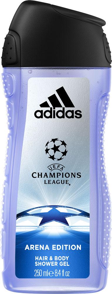 Adidas Гель для душа UEFA III мужской, 250 мл adidas uefa iii гель для душа для мужчин 250мл