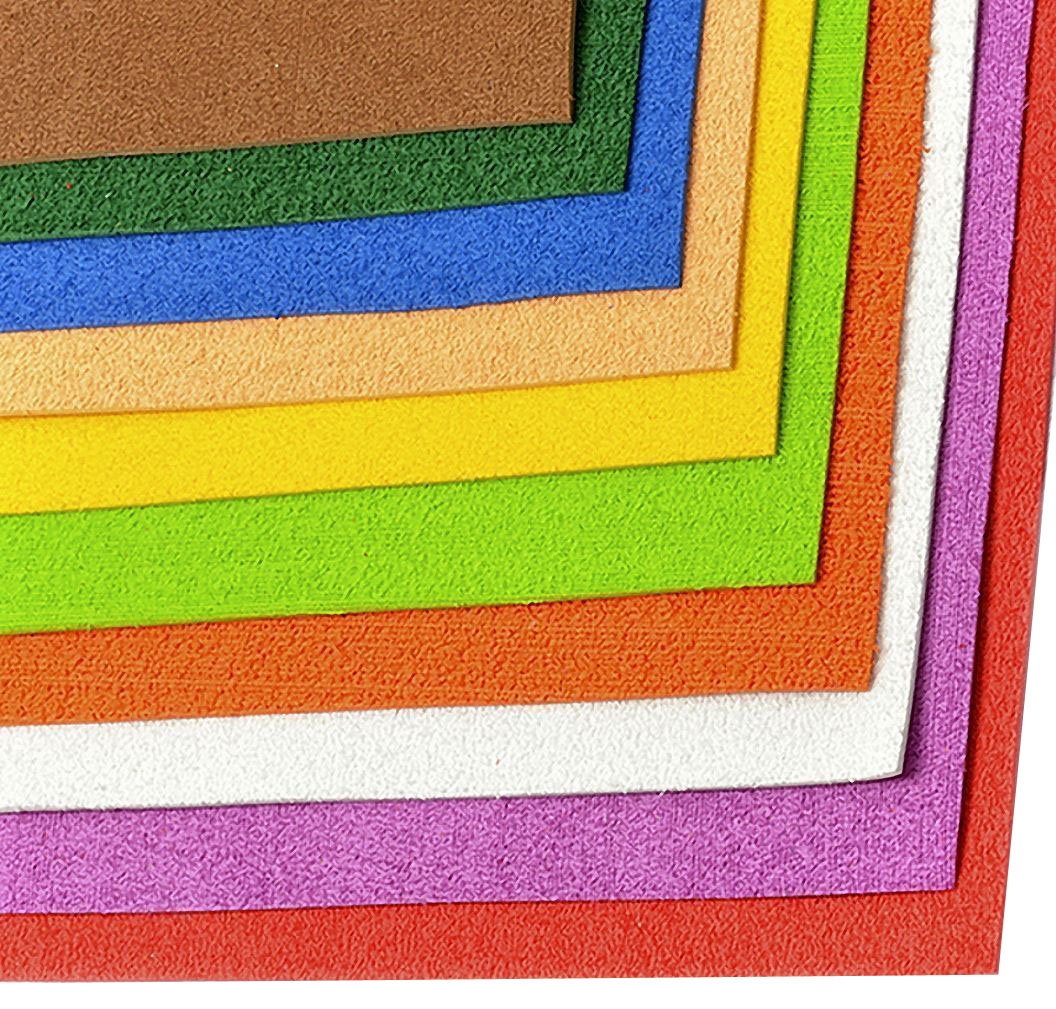 Набор махрового фоамирана Magic Hobby, 2 мм, 20 х 30 cм, 10 шт. MG.TOW.ASSOR.1 набор махрового фоамирана magic hobby 2 мм 20 х 30 cм 10 шт mg tow assor 2