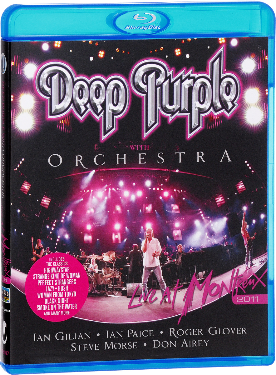 Deep Purple With Orchestra: Live At Montreux 2011 (Blu-ray) deep purple deep purple live at montreux 2006