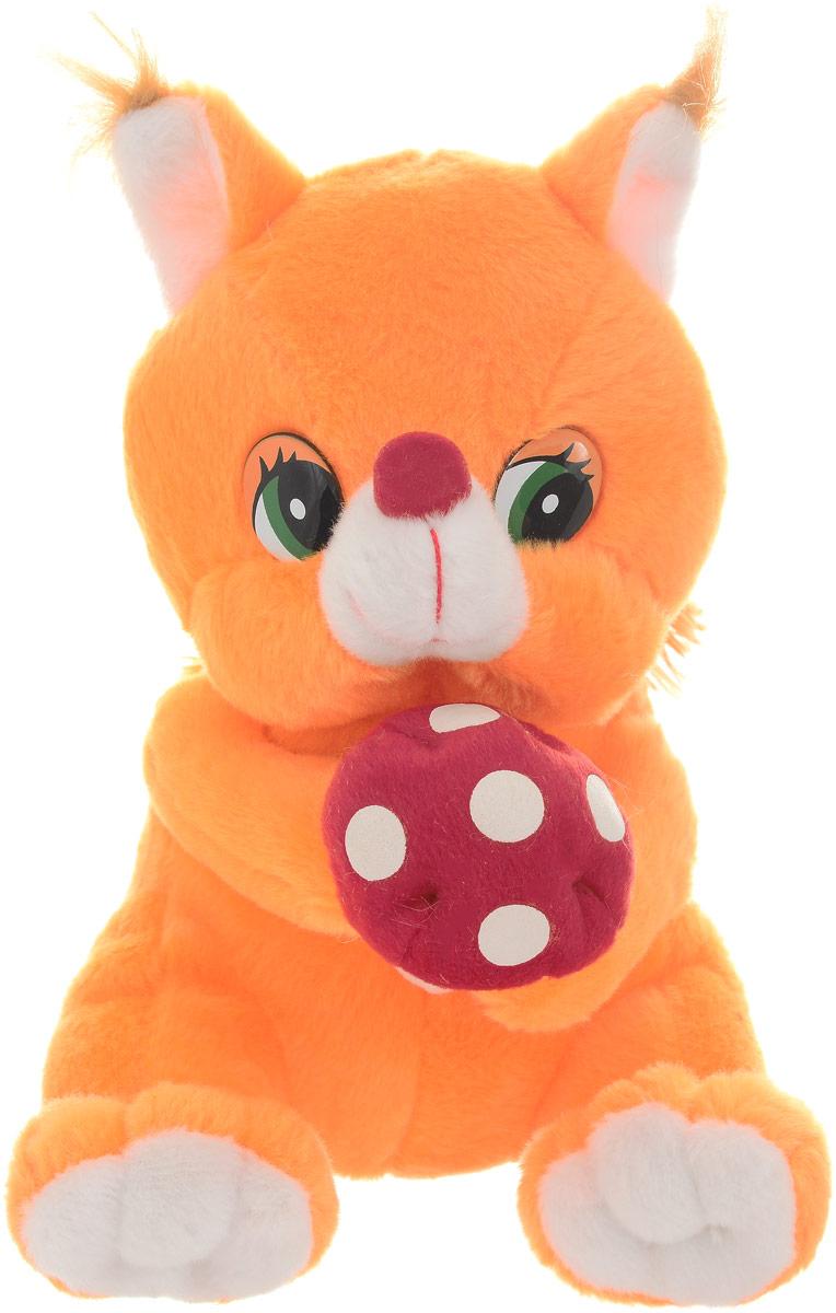 Magic Bear Toys Мягкая игрушка Белка музыкальная 20 см цена