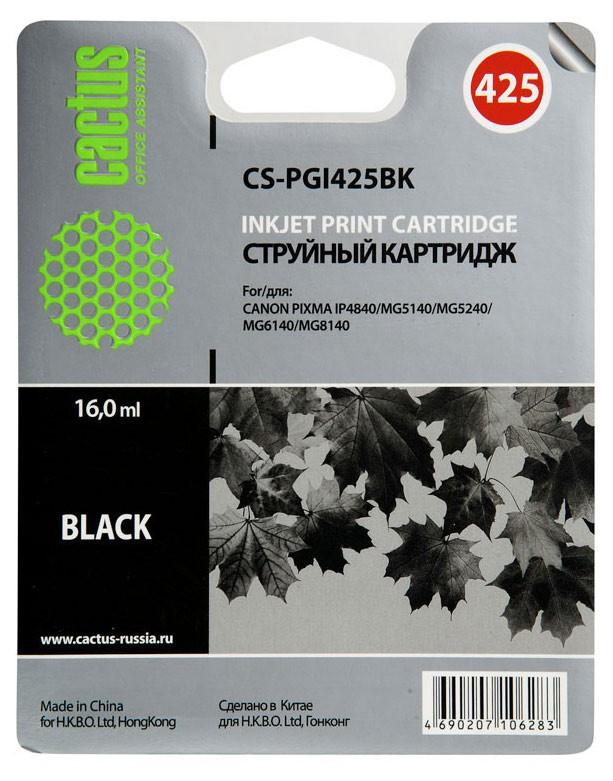 Cactus CS-PGI425BK для Canon cactus cs d117s
