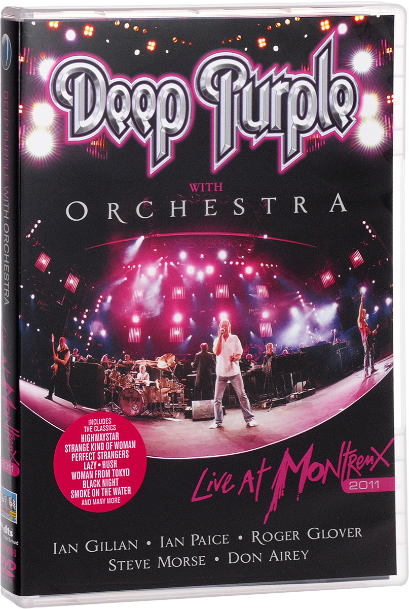 Deep Purple With Orchestra: Live At Montreux 2011 deep purple deep purple live at montreux 2006