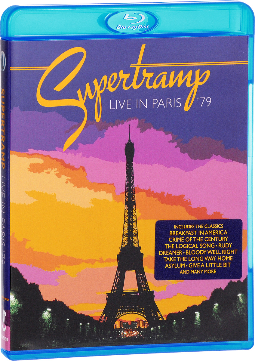 Supertramp: Live In Paris '79 (Blu-ray) supertramp supertramp crime of the century blu ray audio