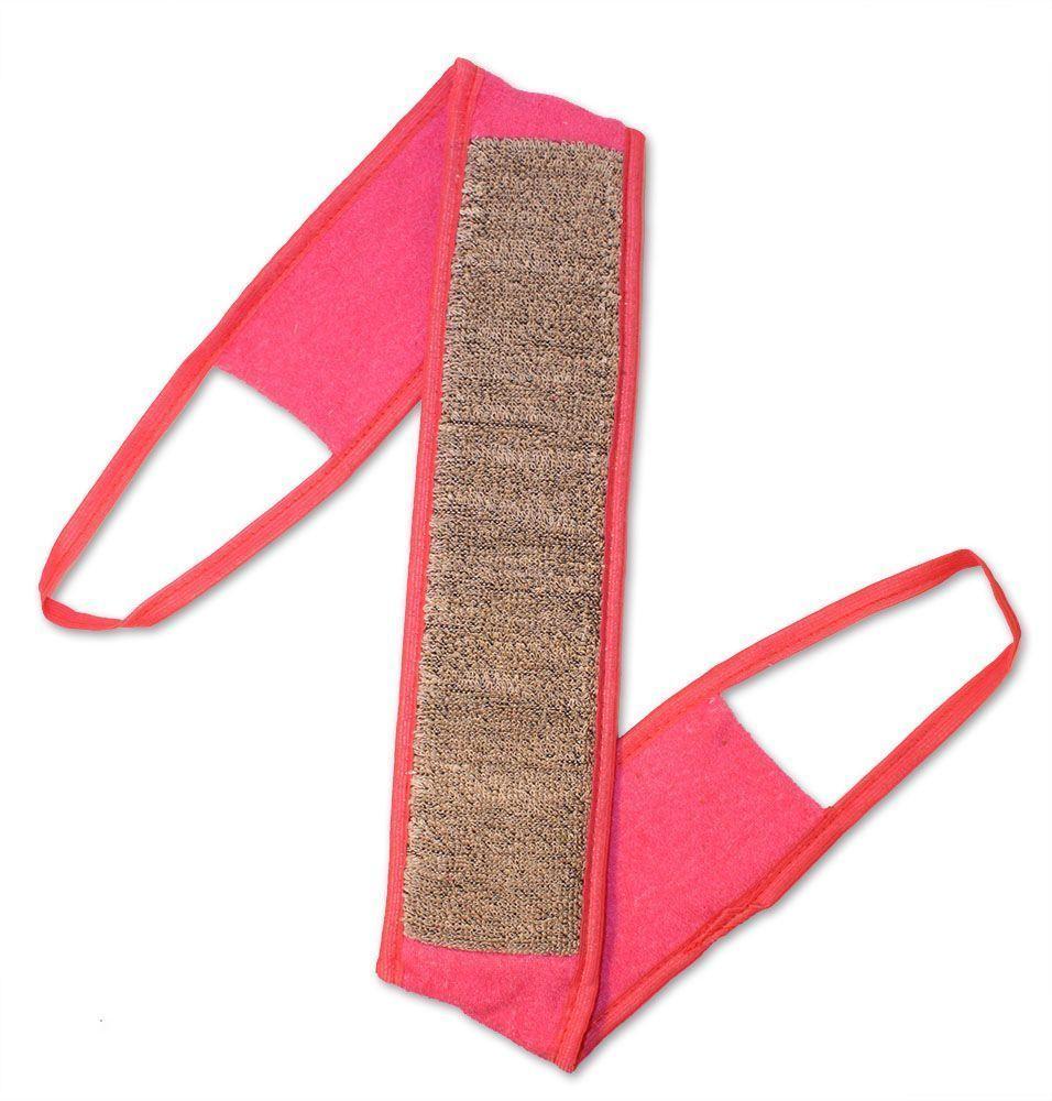 Мочалка Eva Ladies, с ручками. М2531 мочалка eva букле полосы вязаная с ручками цвет розовый