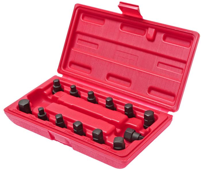 Набор вставок JTC для маслосливных пробок. JTC-1117 ключ jtc 5103 8 9 мм